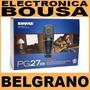 Microfono Shure Pg 27 Usb Ideal Voces E Instrumento Belgrano