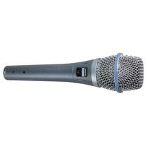 Shure Beta87a Microfono Condenser Supercardioide Para Voces