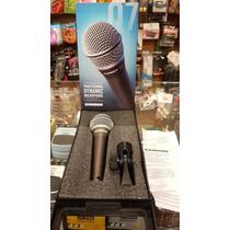 Microfono Samson Q7 Nuevo En Caja Cerrada!!!