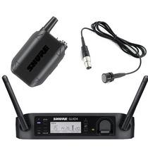 Sistema Inalámbrico Shure Glxd14 Con Micrófono Lavalier Pg85