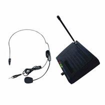 Sistema Microfono Inalambrico Vincha Vhf Moon Mei03vh