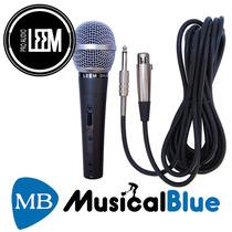 Microfono Leem De Mano Profesional Cardioide Dm302