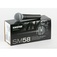 Microfono Shure Sm58 Dinamico Cardioide+funda+pipeta Nuevo !
