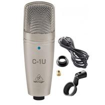 Behringer C-1u Microfono Condensador Usb Profesional