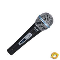 Microfono De Mano Daza Vocal Cable Canon / Plug 3 Mts Ma220