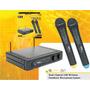 Skp Uhf261 Sistema Microfono Inalambrico Doble Mano Uhf