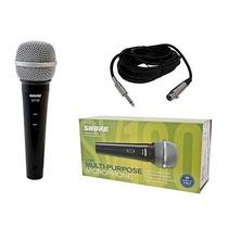 Microfono Shure Sv100 Original Dinamico Instr Gtia Oficial