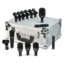 Set De 7 Microfonos P/ Bateria Audix Fp7 Kit De Microfonos