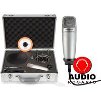 Samson C01upk Microfono Condenser Estudio Pro Usb Kit Radio
