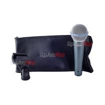 Microfono Shure Beta 58a Vocal Dinámico Musica Pilar