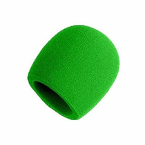 Paraviento Antipop Para Micrófono Verde Shure A58ws-gnr