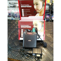 Amplificador Multifuction C/ Microfono Vincha Movil C/usb Sd