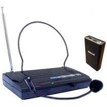 Microfono Inalambrico Vincha Ciclos Sh200 Vhf Open Music