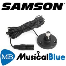 Base Para Microfono Samson Cuello De Ganso, Con Cable Xfm1