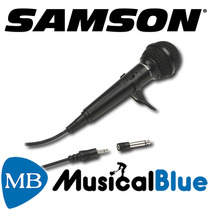 Microfono Samson Plast Dinam Cardiode C/cable Versatil-r10s