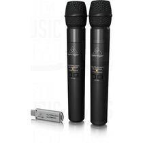 Microfonos Inalambricos Behringer Ultralink Ulm202 - Usb
