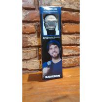 Micrófono Samson R21s Dinámico