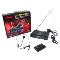 Micrófono Inalambrico De Vincha Vhf128