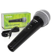 Microfono Vocal Mano Shure Sv100 Dinamico Con Cable Xlr-plug