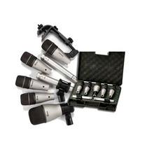 Set De Microfonos P/ Bateria Samson Dk7 5 Cuerpos Platillos
