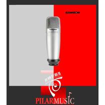 Microfono Samson Condenser Co1u - Pilar Music Champagnat
