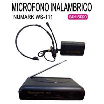 Microfono Inalambrico Tipo Vincha Numark Ws 111