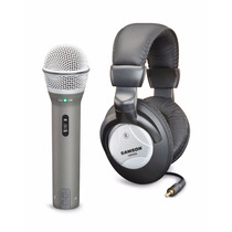 Micrófono Samson Q2u Dinámico Usb /xlr Auriculares Grabación