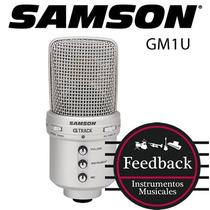 Samson Gm1u - Microfono Condensador G-track