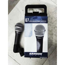 Samson Q7 - Microfono Vocal Super Cardioide Dinamico
