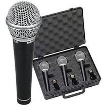 Microfono Para Voz Samson R21, Pack De 3 Con Estuche Edenlp