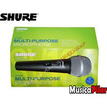 Microfono De Mano Vocal Shure Dinamico Sv100 Musica Pilar