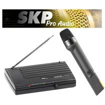 Micrófono Inalámbrico Profesional Skp Vhf-655