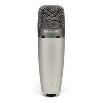 Micrófono Condensador Samson C03u Multipatrón Usb