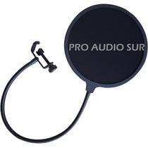Filtro Antipop Cuello Flexible Estudio Grabacion P Microfono