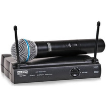 Microcrofono Uhf Inalambrico De Mano Proco U2400m