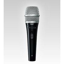 Microfono Shure Dinámico Cardiode Pg57, Con Cable E Interrup