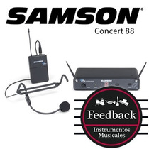 Samson Concert 88 - Microfono Inalambrico Vincha Para Teatro
