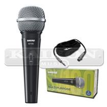 Microfono Dinamico Vocal Shure Sv100 + Cable Canon Plug