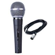 Microfono Dinamico Profesional Leem Dm302 Con Cable La Roca