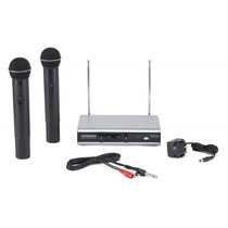 Microfono Inalambrico Samson Vhf Doble De Mano Stage266