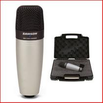 Microfono De Condensador Samson Co1 Con Estuche - En Palermo