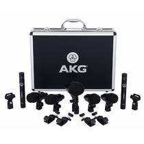 Akg Drum Set Session 7 Micrófonos Bateria Audiomasmusica