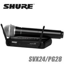 Shure Svx24/pg28 Sistema Inalámbrico De Mano Ufh