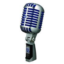 Microfono Shure Dinámico Cardioide Super55 Vocal Ed Azul