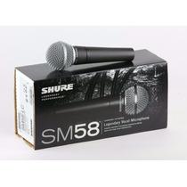 Microfono Shure Sm58 Nuevo.original 100 % El Mejor Precio!!