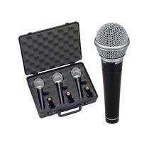 Set De Microfono Samson R21 3 Al Precio De Uno. Con Garantia