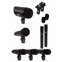 Skp Dms-7 Set De Mic. P/batería. Kit De 7 Micrófonos