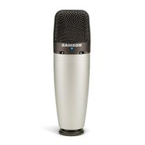 Micrófono Condenser Samson C03 Estudio Multipatrón C/estuche