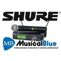 Sistema Microfono Inalambrico De Mano, Shure Slx24ar/sm58