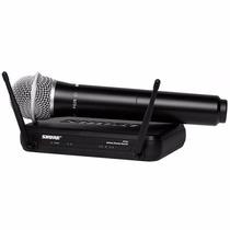 Microfono Inalambrico Mano Pro Uhf Shure Svx24/pg28-p12 Gtia